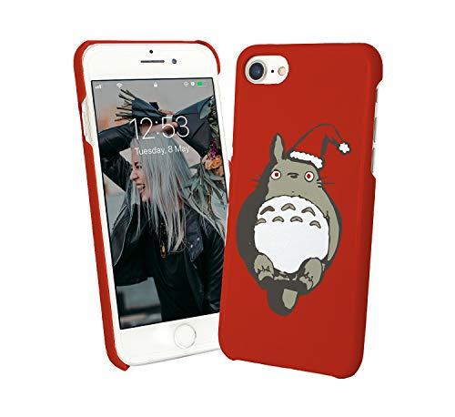 Christmas Totoro Santa Studio Ghibli_008293 Phone Case Cover Custodia Protettiva Sottile Per For iPhone 6 iPhone 6s Regalo Di Natale