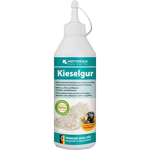 HOTREGA Kieselgur 500 ml - Stark trocknendes Streumittel mit intensiver Feuchtigkeitsbindung
