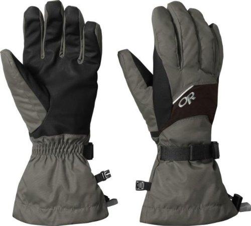 Outdoor Research Men's Adrenaline Gloves, Fossil/Espresso, S