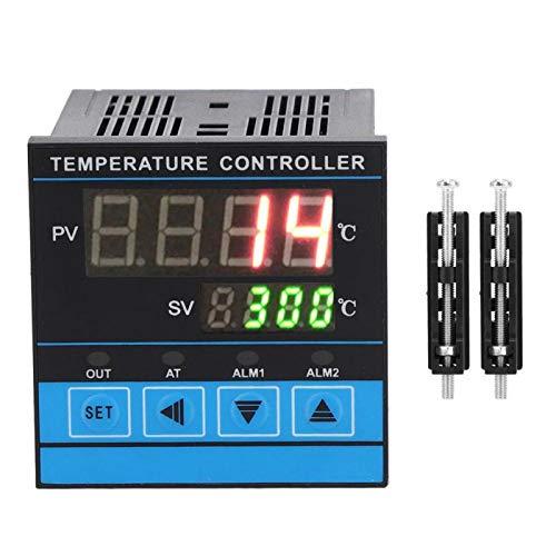 Controlador de temperatura, Controlador de temperatura digital de autoajuste, SALIDA RELÉ + SSR Múltiples señales para el uso de diferentes aplicaciones Equipos industriales