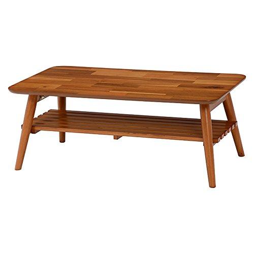 日用品 完成品 折れ脚テーブル 折り畳み テーブル ローテーブル 机