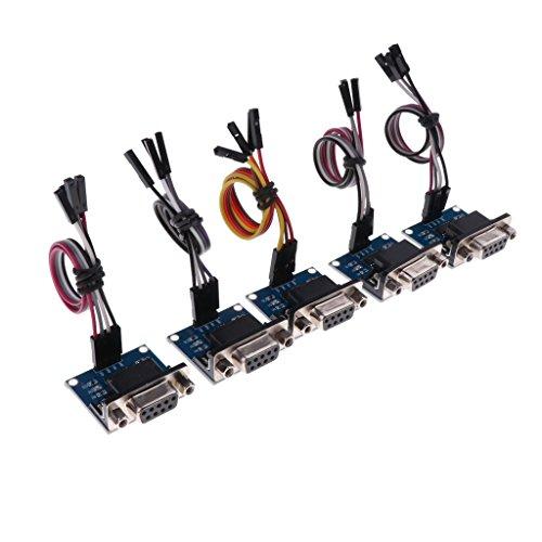 5 stücke RS232 zu TTL Adapter Board Serienmodul MAX3232 für Arduino
