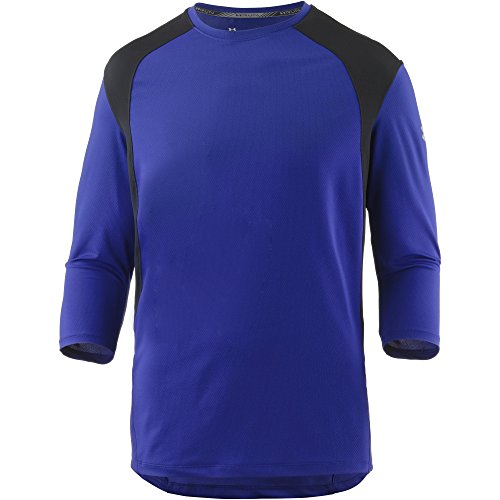 Under Armour 0191168979717 Maillot Manche Longue Homme, Formation-Blue-Black-Reflective, FR Fabricant : Taille M