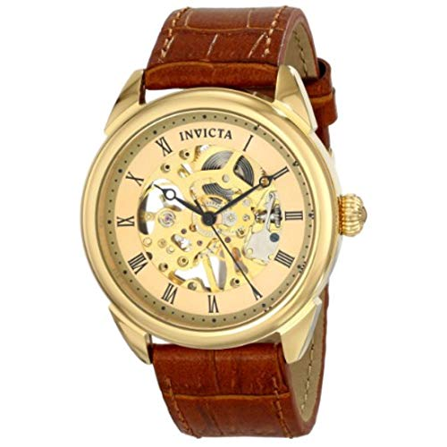 Invicta Men's 17186 Specialty Analog Display Mechanical Hand Wind Brown Watch