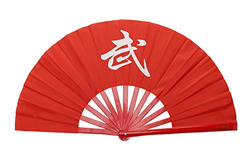 Icnbuys traditionnel chinois Kung Fu Tai Chi Fan, Homme femme, Wu