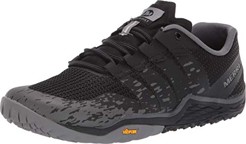Merrell Women's Trail Glove 5 Sneaker, Black, 06.5 M US