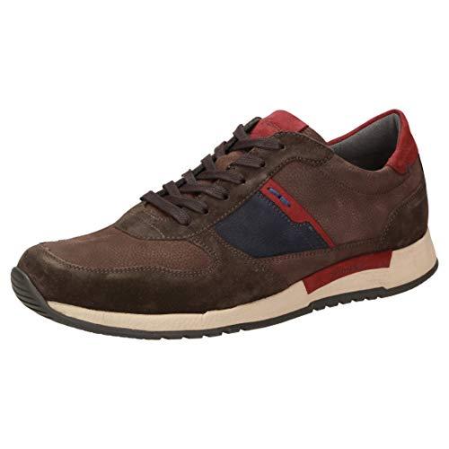 Sioux Herren Rojaro-700 Sneaker, Braun (Espresso 2X/Deepbl. 003), 42.5 EU