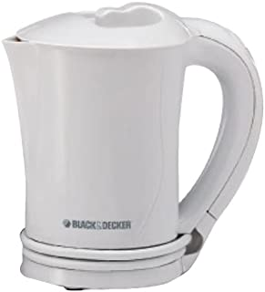Black & Decker TR200JA 500W 0.5L Electric Water Tea Kettle, White (220V - UK Cord)