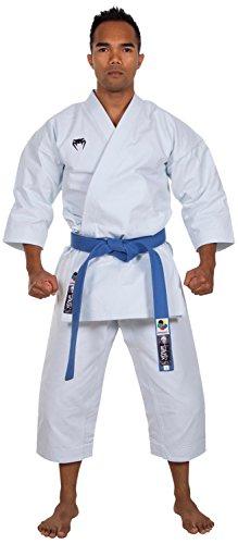 Venum Elite Kata Karate Gi Kimono Homme, Blanc, XXXS (Taille