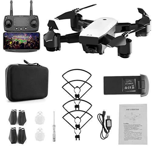 Drohne für Kinder, Faltbare 6-Achsen-Gyro-Mini-WLAN-RC-Drohne mit Weitwinkel 1080p HD-Kamera 2,4 g Höhen-Hold-RC-Quadcopter mit Headless-Modus-Funktion