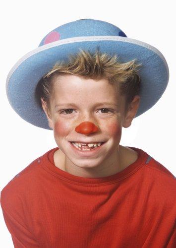 Cesar - H022-001 - Déguisement - Chapeau Feutre - Clown à Pois
