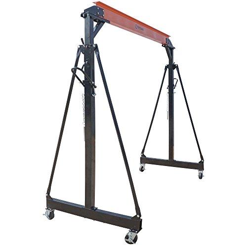 Titan Attachments 2 Ton Adjustable Gantry Crane - 4000 lb Capacity