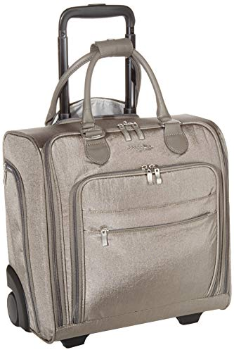 Baggallini Women's Carry on, Sterling Shimmer, NS