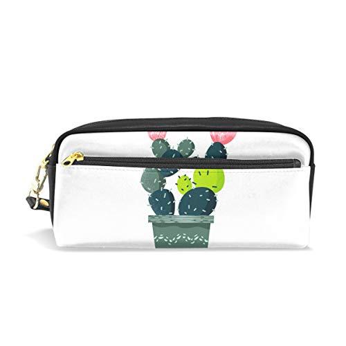 DEZIRO Lush Kaktus-Federmäppchen Box Kosmetiktasche
