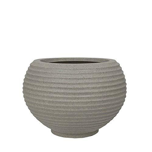 Vaso Bromelia 32 X 32 Cm Vasart Granito Pedra