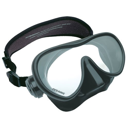 Oceanic Shadow and Mini Shadow Frameless Extremely Low Volume Design Scuba Mask