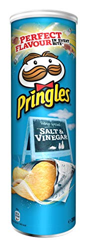 Pringles Salt und Vinegar | Salz- und Essig Chips | Einzelpackung (1 x 200g)