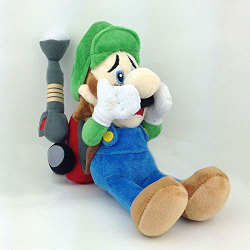 Lama Plüschtier Faultier Quallen vonshef jsmhh Luigis Mansion 2 Luigi Super Mario Bros Dark Moon Plüsch Stuffed Aniaml 7 Inches