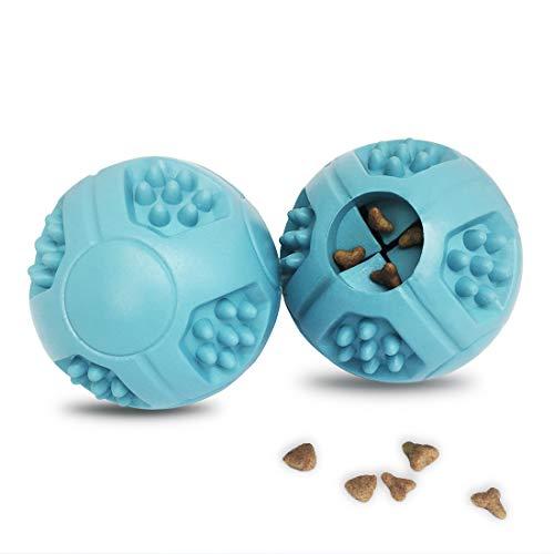 Hundeball Unzerstörbar Welpenspielzeug Hundefutt erbälle Spielzeug zahnpflege Gummi interaktive