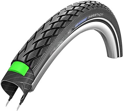 hclshops Neumático de Bicicleta 16 x 1.35 neumático cableado con GreenGuard Reflex 420 g (35-349) (Color : Bundle: Tyre+Schrader, Size : 26x1.25)
