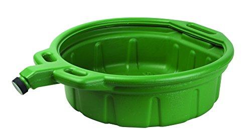 Groz 4-1/4 Gallon Drain Pan | Anti-Freeze | HDPE Construction | Chemical & Solvent Resistant (41961)