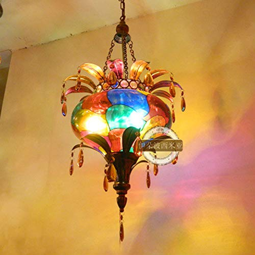 BWLZSP Un PCS Bohemia luz Colgante Pasillo Luces Dormitorio lámpara Colgante AP5301538PY
