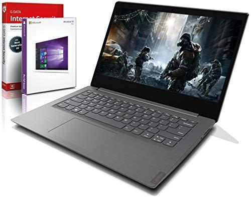 Lenovo (14,0 Zoll HD+) Ultrabook (1.5kg), großer 8h Akku, AMD 3020e (Ryzen Core) 2x2.6 GHz, 8GB DDR4, 512 GB SSD, Radeon RX, HDMI, Webcam, BT, USB 3.0, WLAN, Win10 Prof., MS Office Laptop #6564