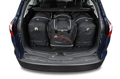 KJUST Reisetaschen 4 STK Set kompatibel mit Ford Focus Kombi III 2011-2018