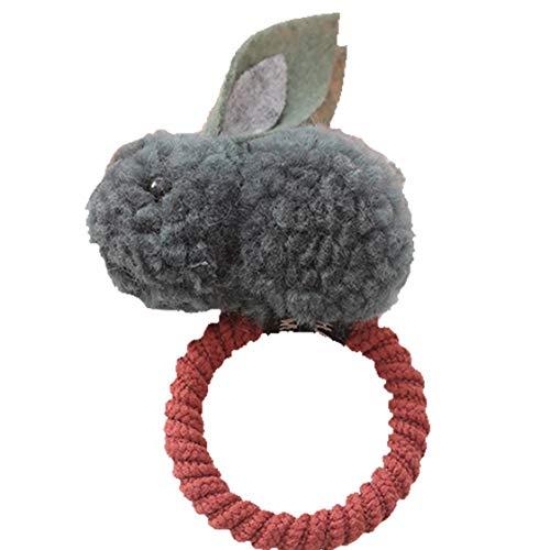 Filles Coton Lapin Lapin Bands Cheveux Cheval Cravate Cheveux Hairstreak Bandeau Chouchous Accessoires Cheveux