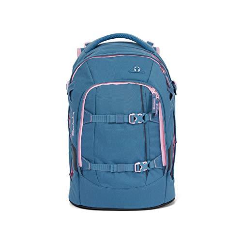 satch Pack Deep Rose, ergonomischer Schulrucksack, 30 Liter, Organisationstalent, Rosa
