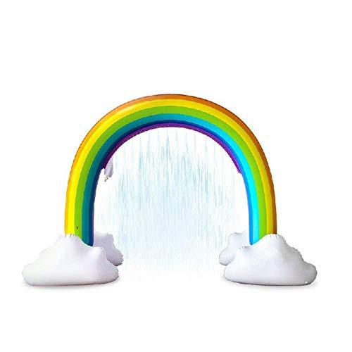 160 Cm Hoch, Der Heißeste Wasserpark, Kinderwasserpark, Sommerunterhaltungsspielzeug Im Freien, Spielzeug Für Babyschwimmbäder, Wassersprühmatte (mehrfarbig)