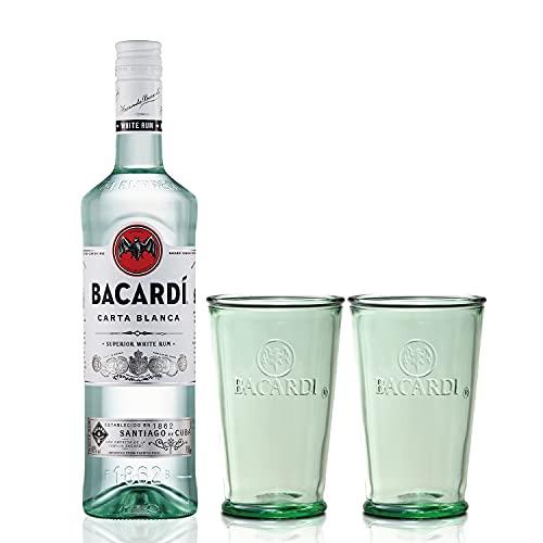 【Amazon.co.jp限定】 バカルディスペリオール グラス2個セット ホワイトラム