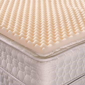 Geneva Healthcare Egg Crate Convoluted Foam Mattress Pad 4
