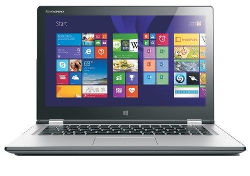 Lenovo Yoga 2 13.3-inch Full-HD 1080p Multimode Touchscreen Laptop (Silver) - (Intel Core i5-4200U 1.7 GHz, 8 GB RAM, 500 GB HDD, Integrated Graphics, HDMI, Webcam, Bluetooth, Wi-Fi, Windows 8.1)