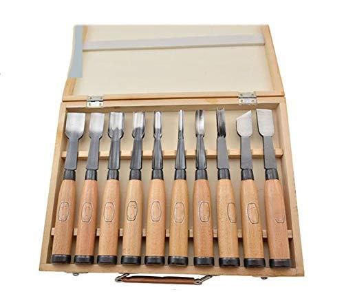 OUTGJL Complete Chip Carving Knives Best Wood-Carving Knife Set,Large Wood Carving Knife Carving Knife Set Handmade Wood Carving Knife Set