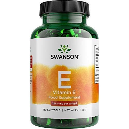 Swanson Natural Vitamin E 400iu, 250 Softgels