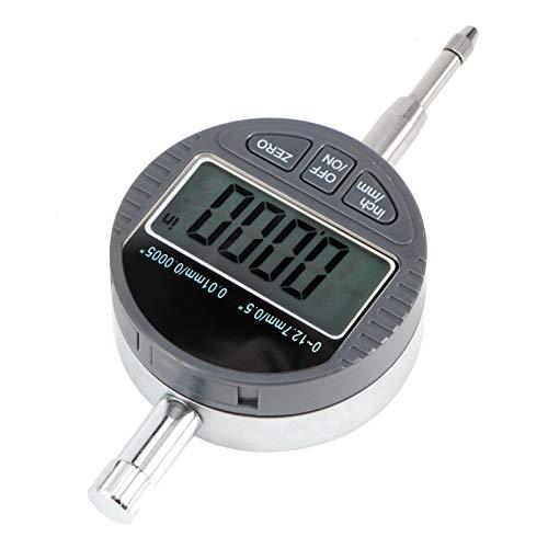 Indicador de cuadrante digital, precisión de 0.01 mm Sonda electrónica de medición de profundidad Indicador digital de alta resolución para producción industrial Mantenimiento mecánico