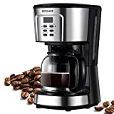BOSCARE programmable coffee maker,2-12 Cup Drip Coffee maker, Mini Coffee Machine with Auto Shu…
