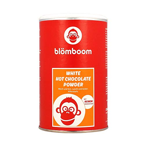 Blömboom White Hot Chocolate Powder, Weiße Trinkschokolade, BIO, Dose (250g)