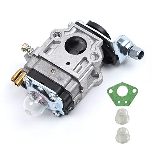 Kit de carbohidratos de carburador de 15 mm para brushcutter 43cc 49cc 52cc Strimmer cortador de motosierra Carburadores