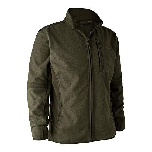 Deerhunter Herren Gamekeeper Bonded Fleece Jacke Übergangsjacke 5515, Adventure Green, M