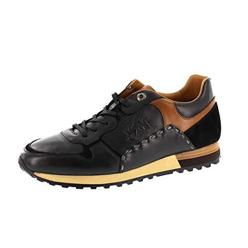 La Martina Herrenschuhe - Sneaker LFM192030 - Nero, Schuhgröße:EUR 42