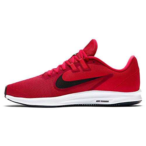 Nike Herren Downshifter 9 Laufschuhe, Rot (Gym Red/Black-University Red-White 600), 42.5 EU