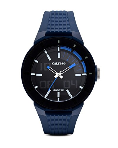 Calypso Reloj de cuarzo Trend Man K5629/3Azul de Negro