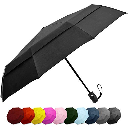 Our #2 Pick is the EEZ-Y Windproof Travel Umbrella