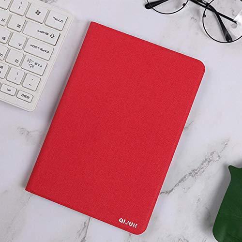 Flip Case für Huawei Media Pad T1 10 T1-A21W T1-A21L T1-A23L 9.6 Abdeckung für Business-Tablet-Hüllen Ledertaschen für Mediapad Tab T1-rot