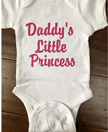 funny baby girl one piece daddy/'s little girl newborn baby girl baby girl clothes baby girl bodysuit i love my Daddy,