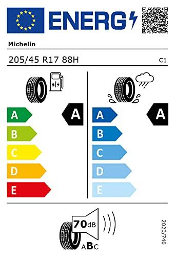 Michelin 80076 Neumático 205/45 R17 88H, Primacy 4 para 4X4, Verano