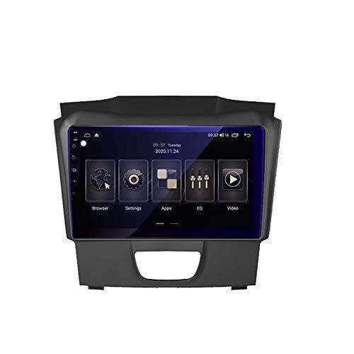 Android 9.0 Unidad Doble Din Head Unit Coche Estéreo Para Isuzu D-MAX DMAX 2015-2018 GPS Navegación Pantalla Táctil Multimedia Player Radio Receptor Carplay DSP R(Size:ocho núcleos,Color:WIFi:4+64G)