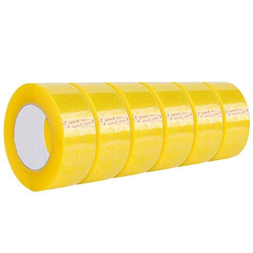 Insulation Tape Dichtungs durchsichtiges Band große Rolle gelber Band geeignet for die Verpackung und den Druck breites Band Express